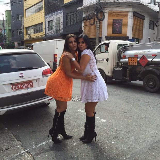 Gretchen e Andressa Ferreira (Foto: Instagram / Reprodução)
