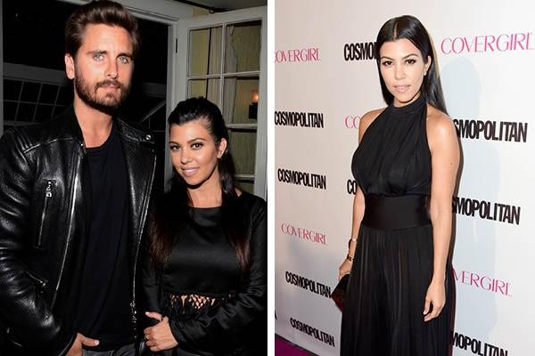 Kourtney Kardashian e Scott Disick (Foto: Getty Images)