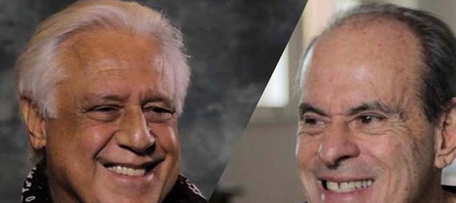Antonio Fagundes e Ney Matogrosso no Viva o Sucesso - destaque