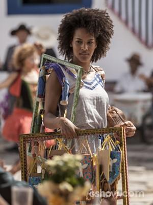 Jéssica Barbosa viverá a segunda fase de Neidinha, irmã de Virgílio (Foto: Inácio Moraes/ TV Globo)