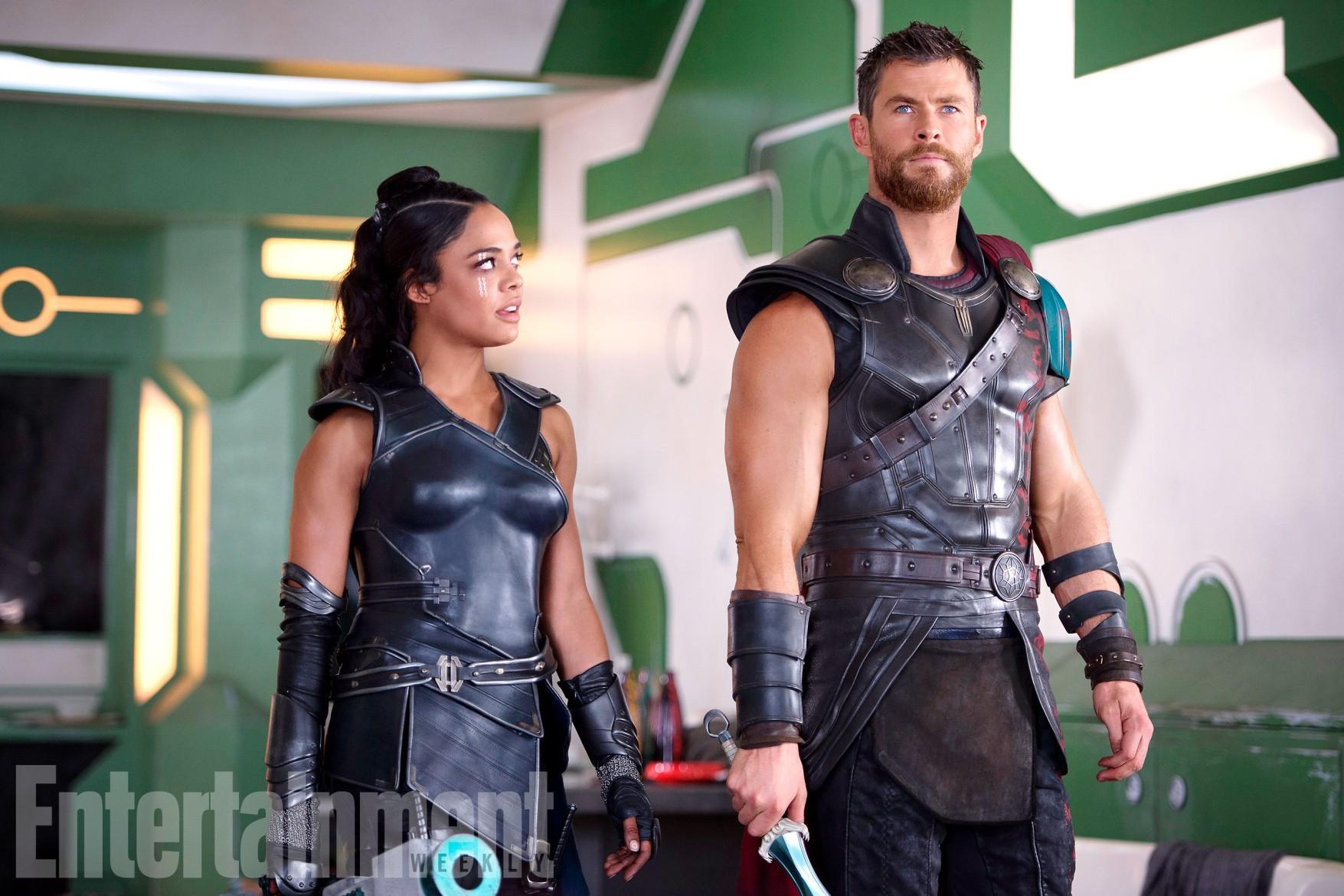 Thor de cabelos curtos em 'Ragnarok' (Foto: Reprodução/ Entertainment Weekly)