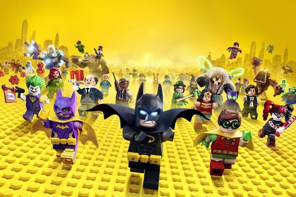 Divulgação do filme Lego Batman - O Filme (2017) (Foto: Reprodução)