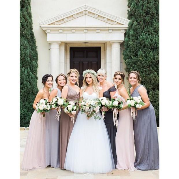 Casamento Ashley Tisdale (Foto: reprodução/instagra,)