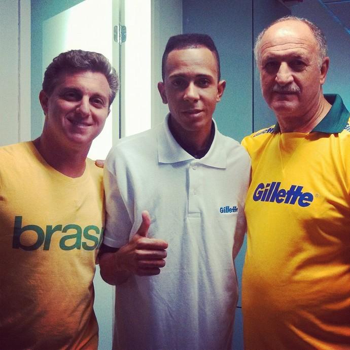 Barbeiro da seleção brasileira (Foto: Reprodução / Facebook)