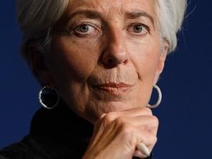 Diretora do FMI, Christine Lagarde já disse que está aberta a concorrer ao cargo novamente  (Foto: AFP)