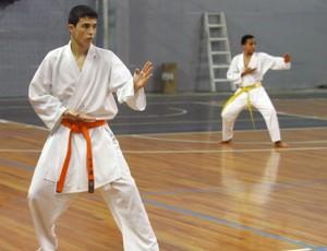 Caratê Suzano Jogos Abertos (Foto: Fernando Araujo)
