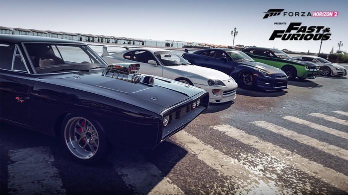 Os carros de Forza Horizon 2 presents Fast & Furious (Foto: Divulgação/Turn10)
