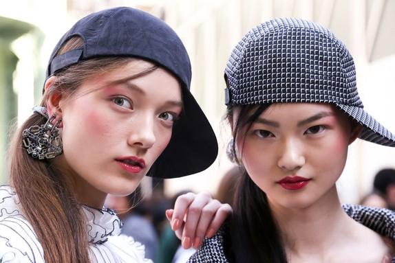 Draping na Chanel, Spring 2016  (Foto: Imaxtree)