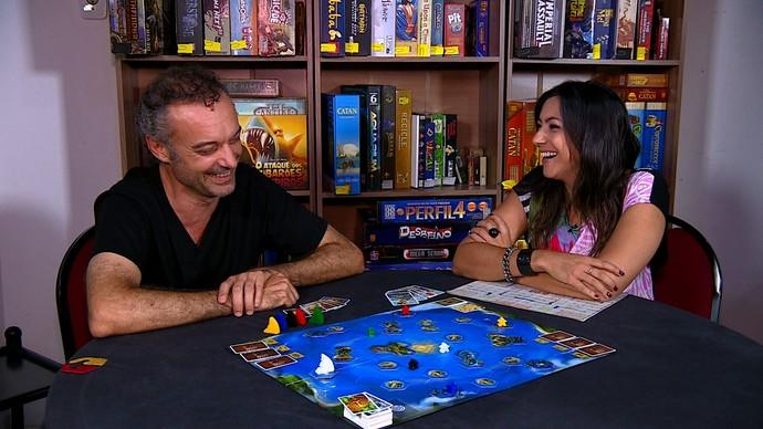 Eron Dalmolin Mistura com Rodaika Cris Silva (Foto: Reprodução/RBS TV)