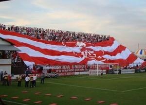 Bandeirão, torcida, Linense (Foto: Divulgação / CA Linense)