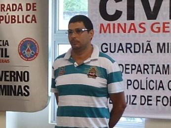 Marco Titonelli, suspeito de matar vereador eleito no RJ. (Foto: Divulgação/Polícia Civil)