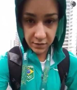 Joanna Maranhão, natação, Olimpíada, Rio (Foto: Reprodução Rede Social)