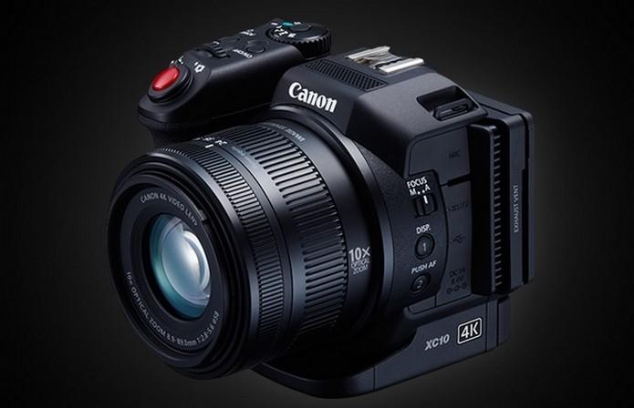 XC10 grava vídeos em 4K e tira fotos de 12 megapixels (Foto: Reprodução/Canon)