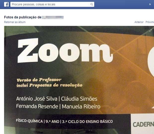 Capa do livro de Portugal que levantou polêmica no Facebook por causa de exercício de física que usa gato jogado de janela como exemplo. (Foto: Reprodução/Facebook)