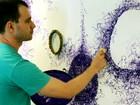 Projeto transforma paredes do Sesc de Piracicaba em 'telas' para artistas