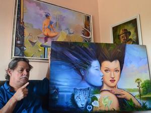 exposição, sinfonia de peças, ivam amanajás, arte, Macapá, Amapá (Foto: Ivam Amanajás/ Arquivo Pessoal)