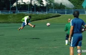 Em primeiro treino com grupo, Gabigol faz golaço de primeira; veja o vídeo