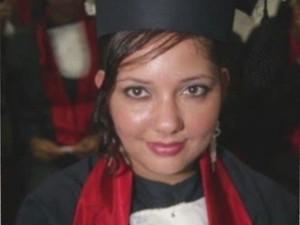 Fabiane gostava de estudar e queria ser técnica em turismo (Foto: Reprodução/ TV Tribuna)