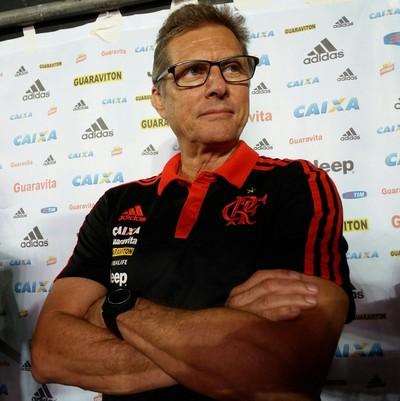 Oswaldo Oliveira Flamengo (Foto: Richard Pinheiro / GloboEsporte.com)