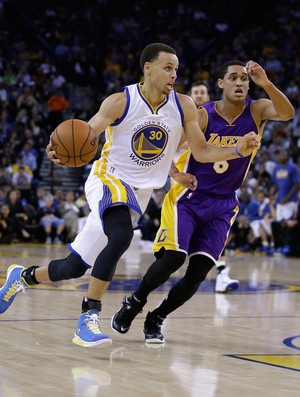 Stephen Curry Warriors s Lakers NBA (Foto: Getty)