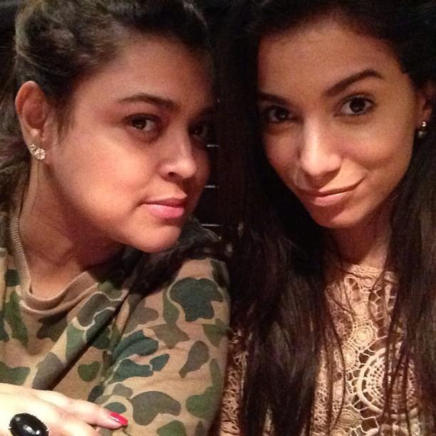 Anitta e Preta Gil (Foto: Reprodução/ Instagram)