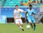 Após susto, Erick Gutiérrez decide e México goleia Fiji na Arena Fonte Nova