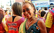 FOTOS: Confira como foi o Bloco do Caldeira, no Centro de Manaus (Ive Rylo/ G1 AM)