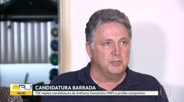 Decisão unânime do TSE barra candidatura de Anthony Garotinho do PRP