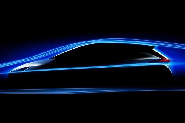Novo teaser do Leaf mostra um pouco do perfil do carro (Foto: Divulgação)