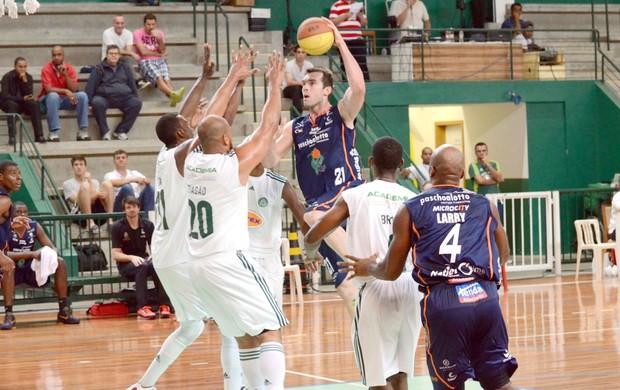 Palmeiras x Bauru Basquete, Murilo, pelo Paulista de Basquete (Foto: Caio Casagrande / Bauru Basket)