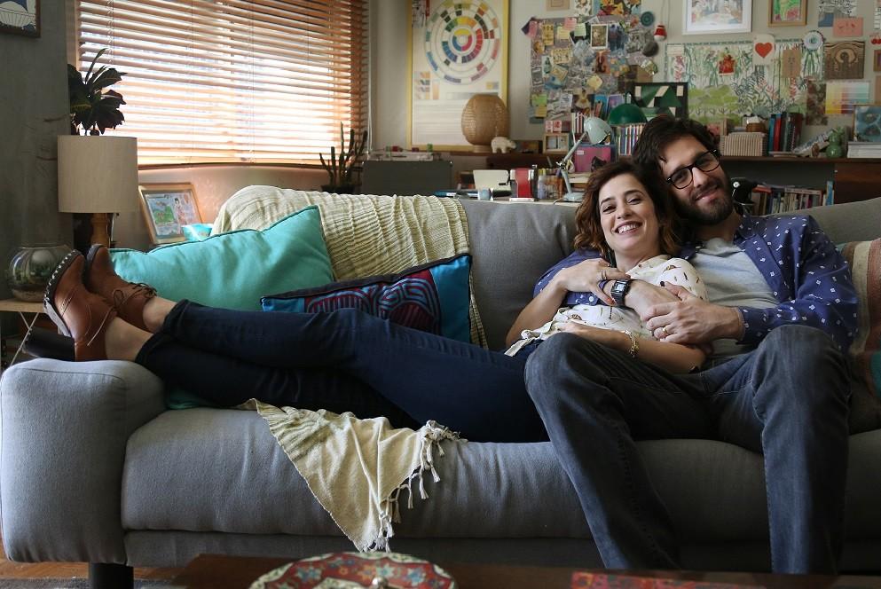 Rafinha Bastos e Paloma Duarte protagonizam a nova srie do Multishow (Foto: Divulgao/Multishow)
