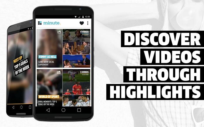 Minute Video Discovery é um app para descobrir vídeos do YouTube (Foto: Divulgação)