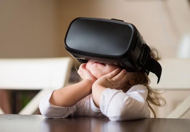 Realidade Virtual ; Virtual Reality ; VR ; tecnologia ; inovação ;  (Foto: Shutterstock)