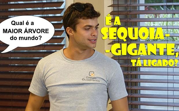 Fera tá ligado em tudo agora!!! (Foto: Malhação / TV Globo)