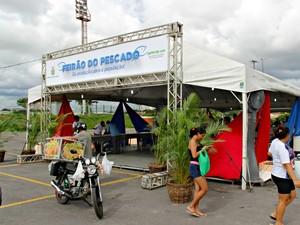 Tendas estão montadas em cinco zonas da capital (Foto: Diego Toledano/ G1 AM)