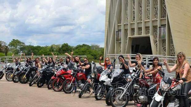Neste sábado (30), tem 2° Moto Passeio Feminino de Maringá  (Foto: Reprodução/Redes Sociais)