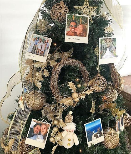Marina Ruy Barbosa: Natal romântico com polaroides ao lado do marido Xande Negrão  (Foto: (Foto: Reprodução Instagram))