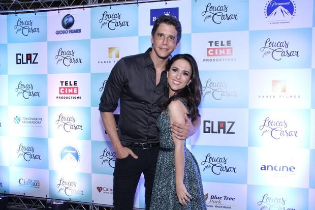 Márcio Garcia e Tatá Werneck em pré-estreia no Rio (Foto: Claudio Andrade e Thyago Andrade / Foto Rio News)
