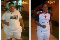 Mecânico perde 75kg em oito meses (Eliel Correa/Arquivo pessoal)
