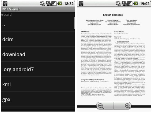 screenshot de PDF Viewer para Android