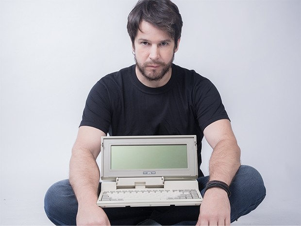 Jonas Marra, na época do lançamento do Bro (Foto: Marra Brasil)