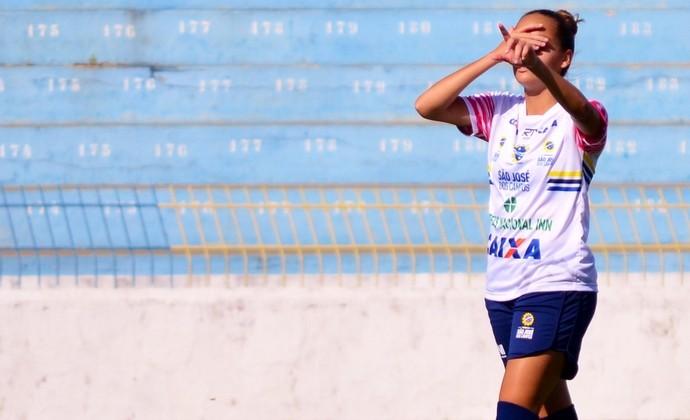 Gabi Portilho São José futebol feminino (Foto: Danilo Sardinha/GloboEsporte.com)