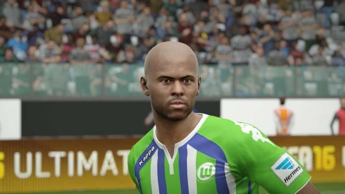 Naldo tem versão sem detalhes em Fifa 16 (Foto: Reprodução/Murilo Molina)