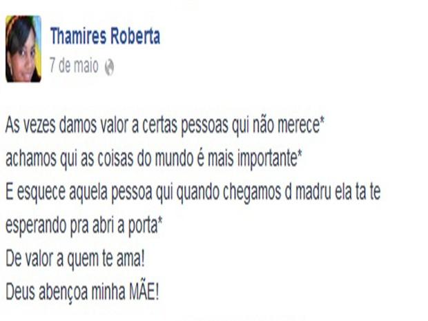 Essa- Dançarina Bezerros (Foto: Facebook/ Arquivo Pessoal)