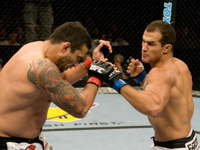 Junior Cigano Fabricio Werdum UFC 90 (Foto: Getty Images)
