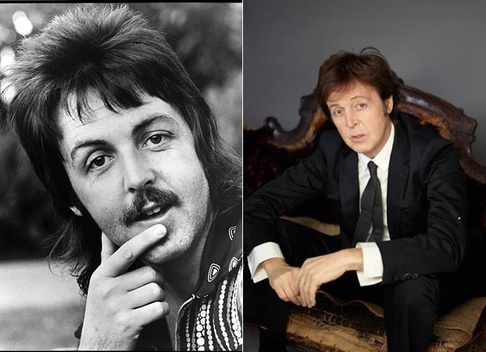 Paul McCartney perdeu o bigode, mas a cara de bom moço continua até hoje (Foto: Divulgação)