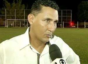 Fernando Braília, técnico do Sparta  (Foto: Reprodução/TV Anhanguera)