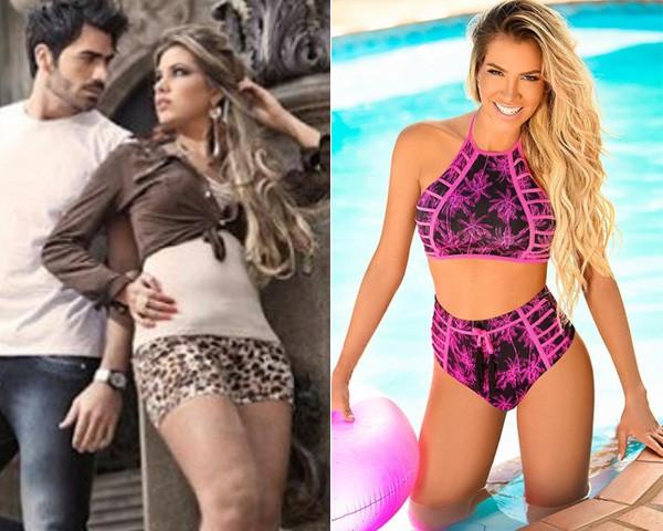 Adriana antes e depois (Foto: Reprodução/Instagram)