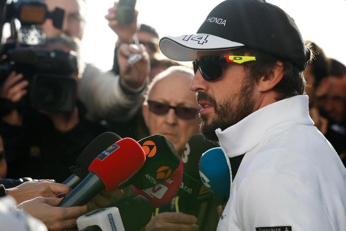 Fernando Alonso nos testes da Fórmula 1 em Jerez de la Frontera (Foto: Divulgação)