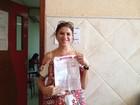 Mãe faz prova do Enem em Rondônia para incentivar filhas adolescentes